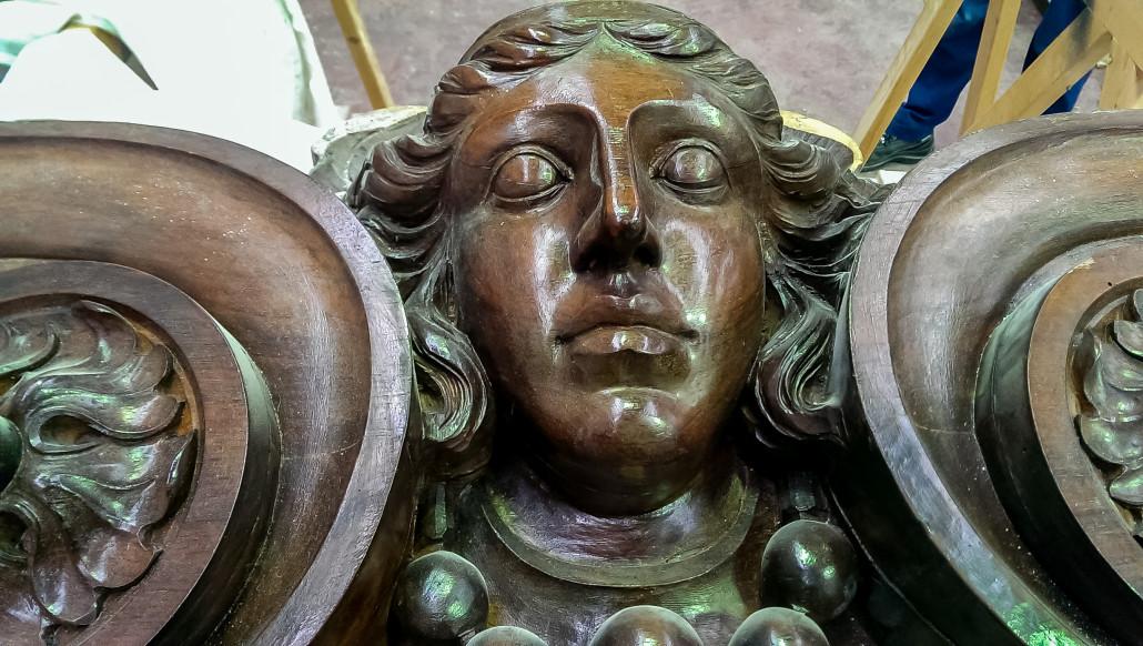 Realizzazione e restauro arredo sacro - Arredo bagno santa maria di sala ...
